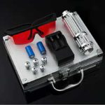High Power Combustion Laser Powerful Blue Laser Torch 450nm 10000m Focusable Green Red Laser Torch 017 Series 3