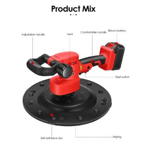 2-in-1 machine 1-6 speed Adjustable Two-handle 2