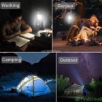 6 in 1 Portable Outdoor LED Camping  6