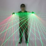 New High Quality 2 in 1 Red Green Laser Gloves