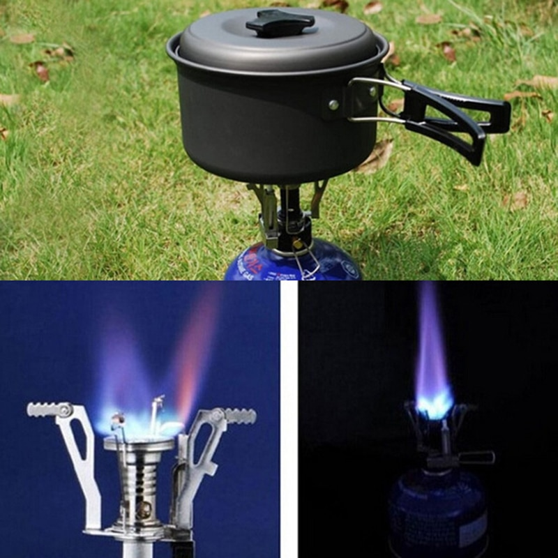 Mini Camping Stoves Folding Outdoor 5