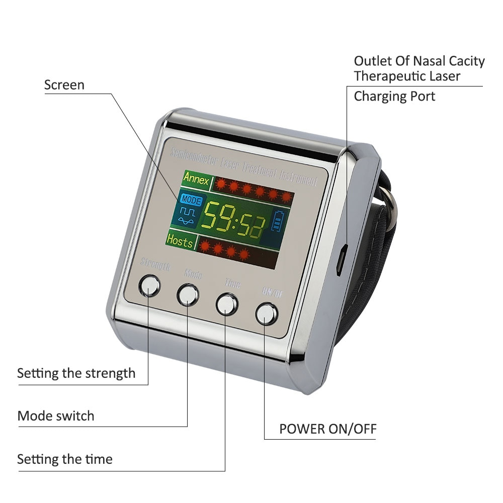 Household 650nm Laser Physiotherapy Wrist Diode 4