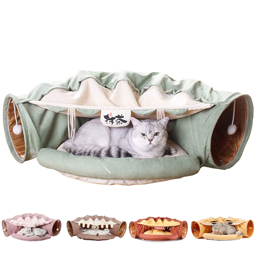 Collapsible Cat Tunnel Tube  1
