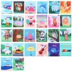 26 PCS Montessori Early Learning Resources Educational Zoo 4