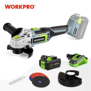 WORKPRO 20V Lithium-ion Cordless Angle Grinder