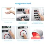 7 Color Round FoldableLED Photon Light Therapy 5