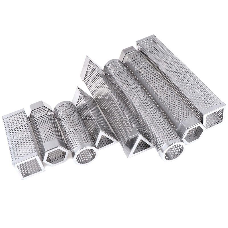 BBQ Stainless Steel Smoker Tube grill 2