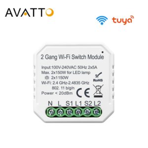 AVATTO WiFi Switch Module with Dual Way  1