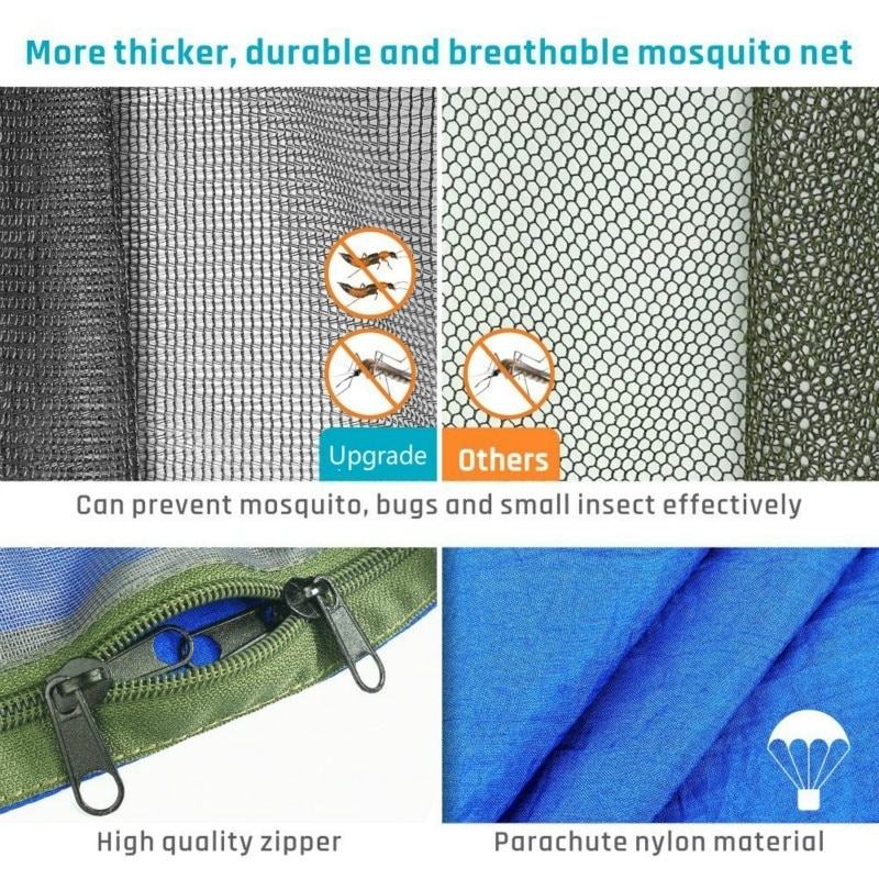 Camping Hammock with Mosquito Net 6