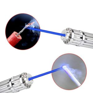 High Power Combustion Laser Powerful Blue Laser Torch 450nm 10000m Focusable Green Red Laser Torch 017 Series 2