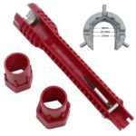 8 In 1 Kitchen Bathroom Faucet And Sink Installer Wrench 5