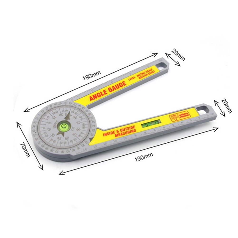 Miter Saw Protractor Ruler 3