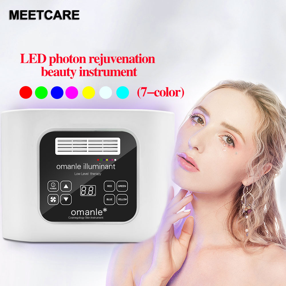 7 Colors Electric Facial LED Photon Light Therapy 1