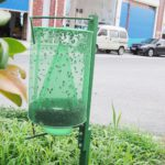 Outdoor Folding Mosquito Capture Catching Fly Mesh Net Hanging Trap Catcher Killer Insect Bug Garden Tool