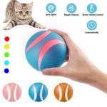 Smart Interactive Cat Toy Ball Colorful LED 5