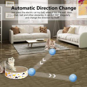 Smart Interactive Cat Toy Ball Colorful LED 2