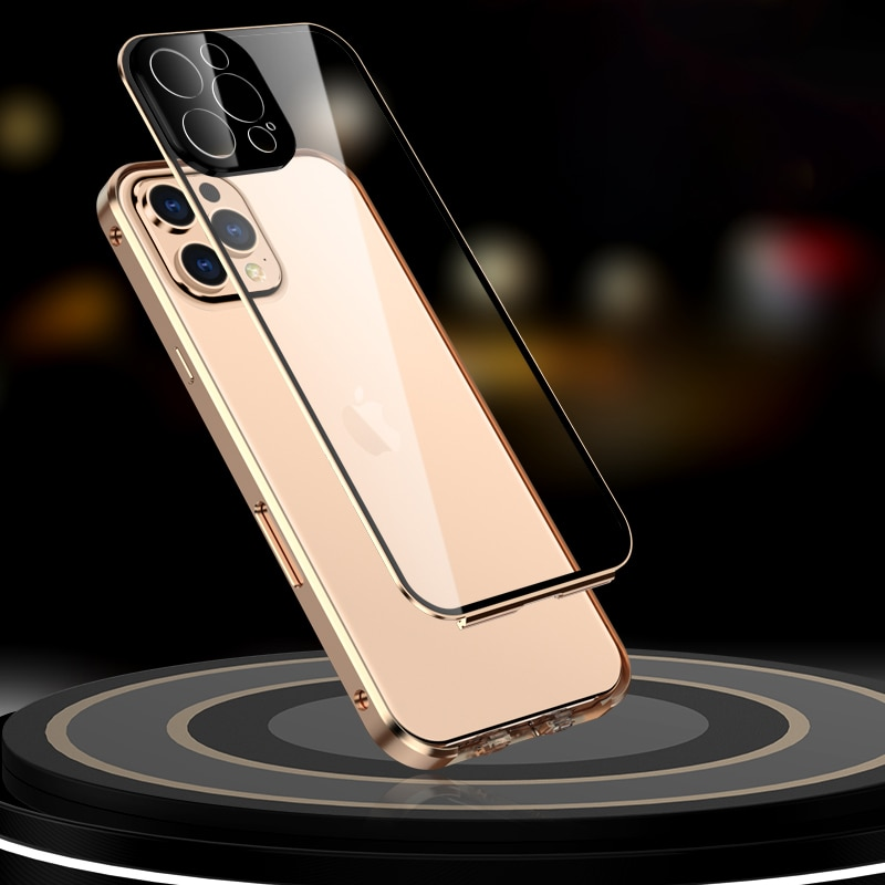 Metal 360 with Built in Screen Protect For iPhone 12 Pro Max Mini  4