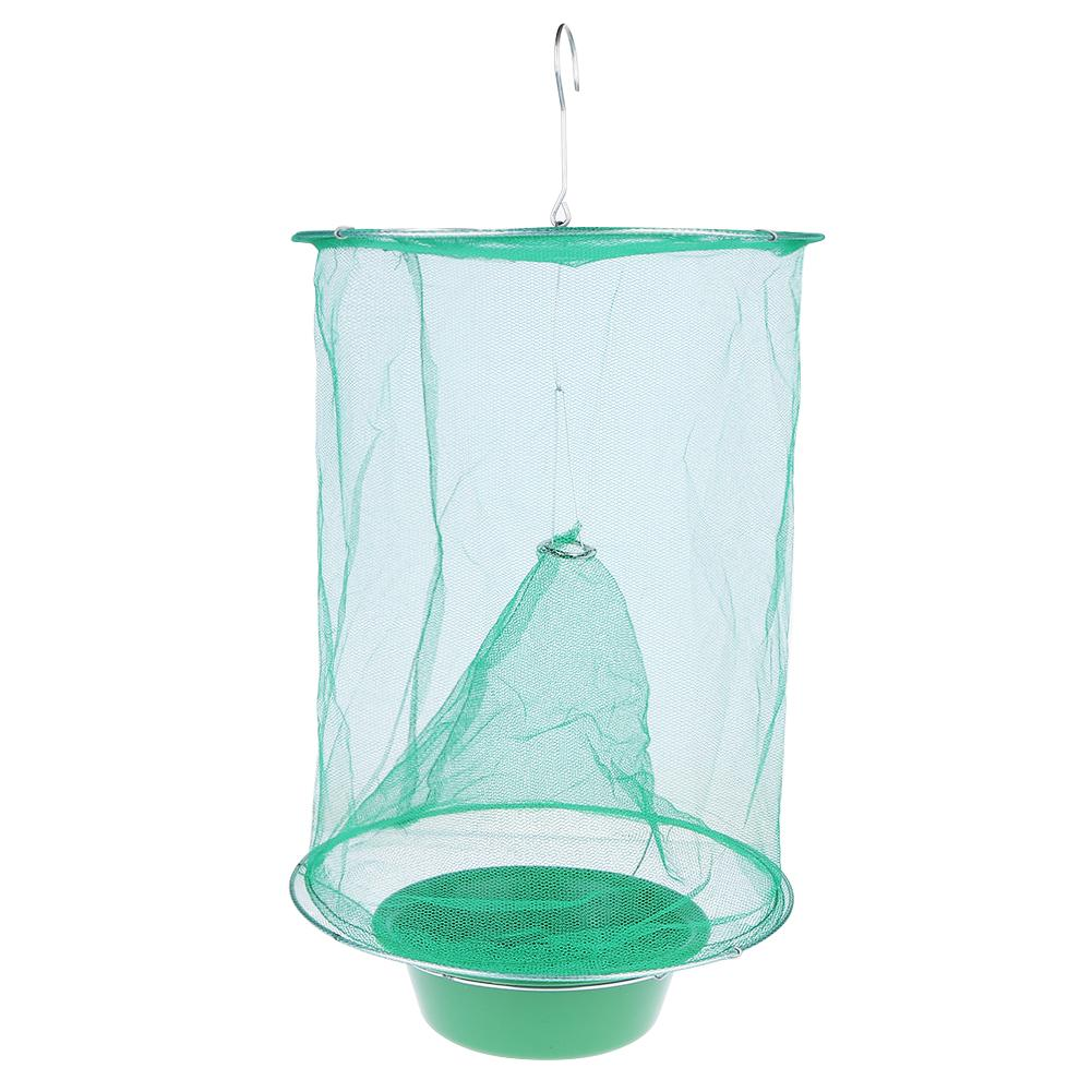 Outdoor Folding Mosquito Capture Catching Fly Mesh Net Hanging Trap Catcher Killer Insect Bug Garden Tool 2