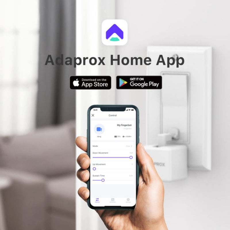Adaprox The Smallest Robot Smart Switch 2