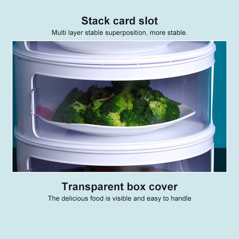 Stackable Food Dome Multi-Layer 2