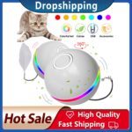 Smart Interactive Cat Toy Ball Colorful LED