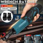 12V Electric Wrench 3/8 Cordless Ratchet 4