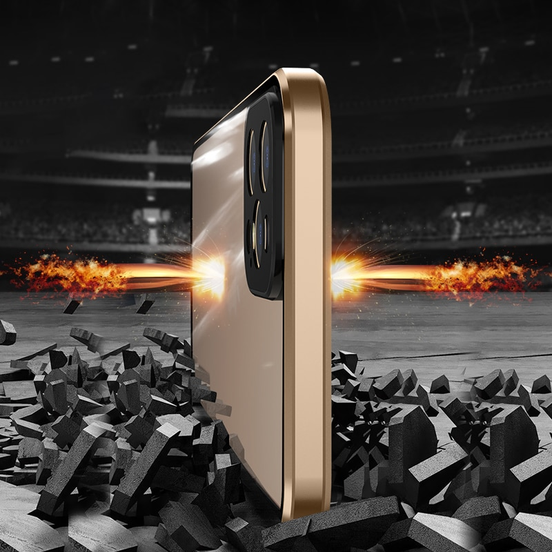 Metal 360 with Built in Screen Protect For iPhone 12 Pro Max Mini  3