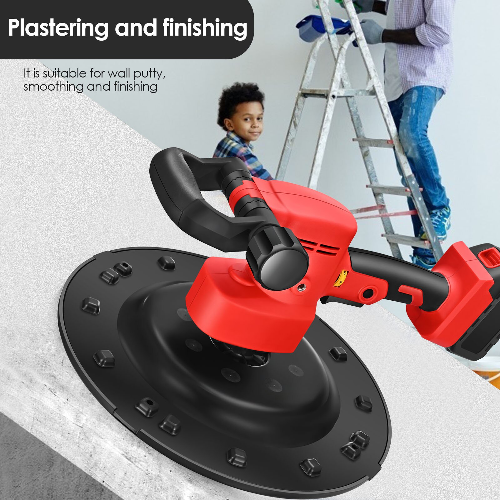 2-in-1 machine 1-6 speed Adjustable Two-handle 5